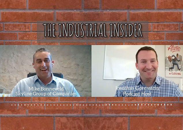 The Industrial Insider. Mike Bonneveld and Jonathan Gorenstein