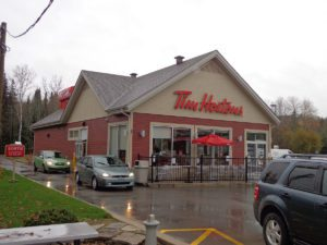 Tim Hortons in Riviere Rouge Quebec